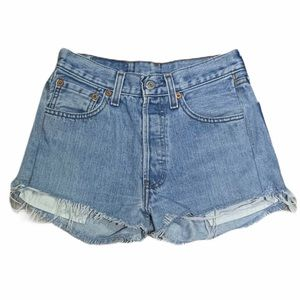 Levi's | Vintage 501 High Waisted Denim Shorts